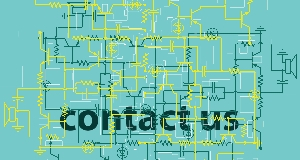 "Image of electrical connections with words ""contact us"""